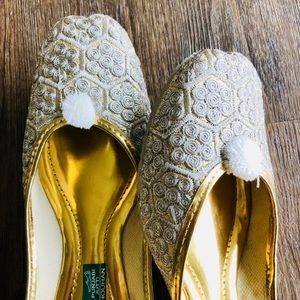 Shoes - New 2018! String of Pearls Jutti